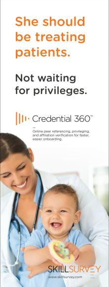 SkillSurvey Credential 360 Banner